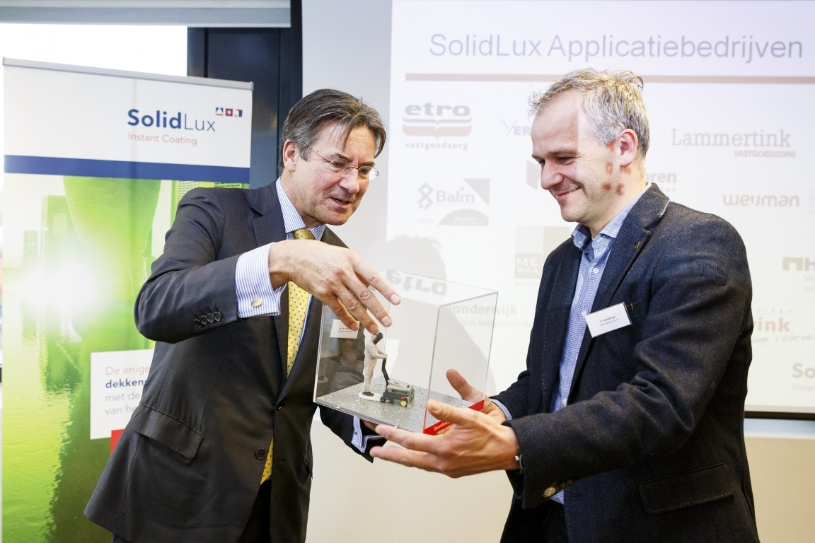 SealteQ gecertificeerd SolidLux-applicateur