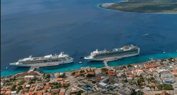 Zuidelijke aanlegsteiger Bonaire