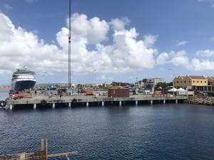 Aanlegsteiger Bonaire verduurzaming