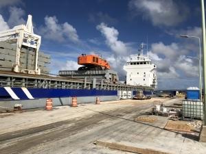 Verduurzaming pier Kralendijk Bonaire