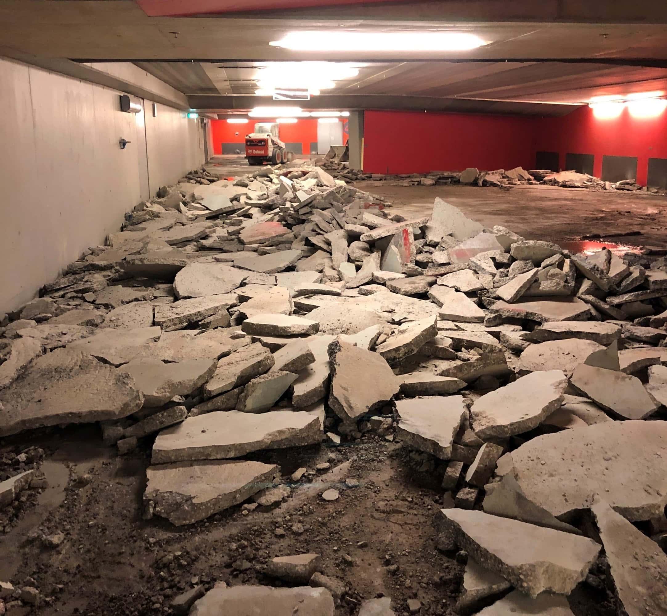 Renovatie van Parkeergarage Arnhem Centraal