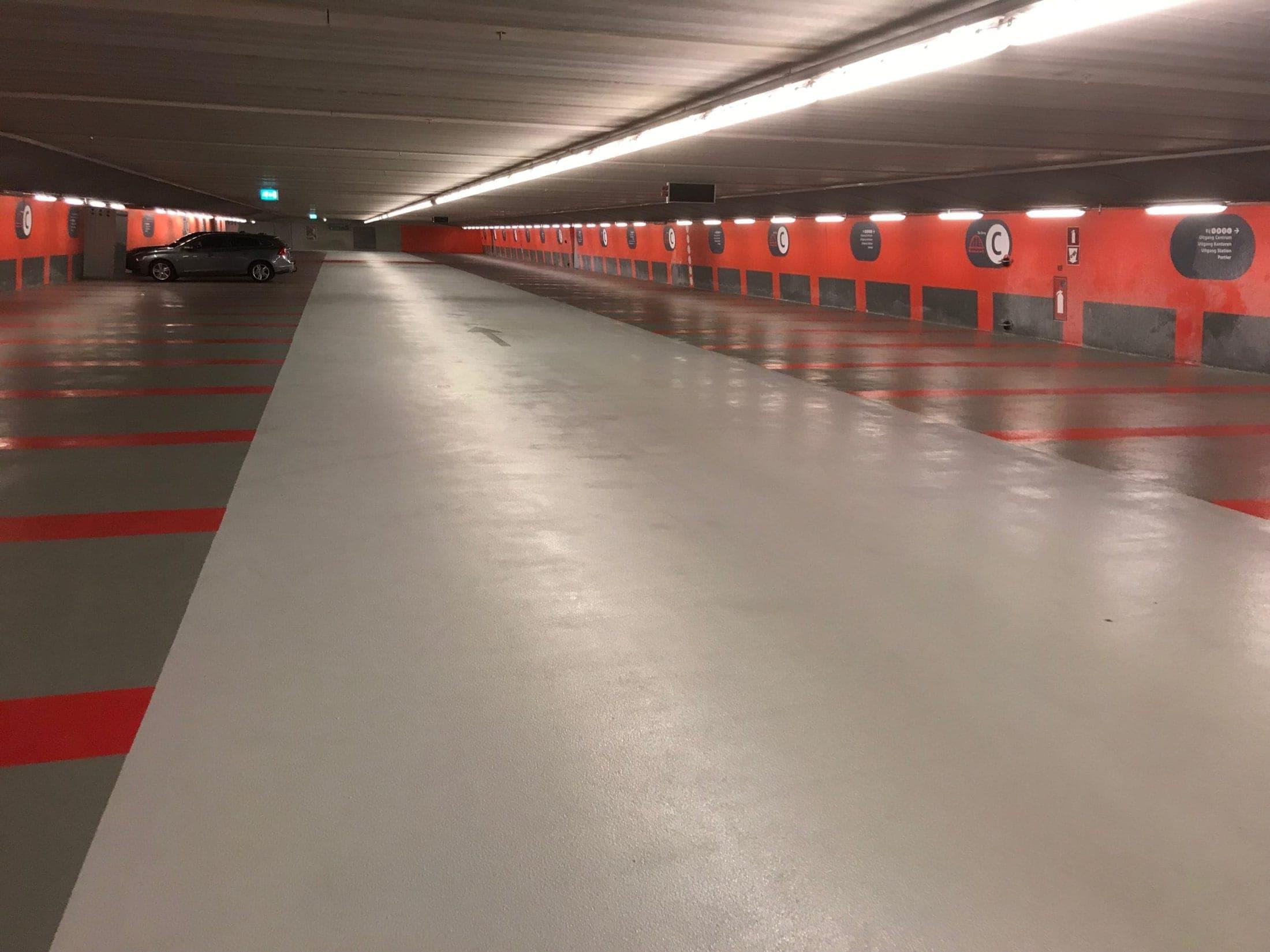 Fase 1 van renovatie parkeergarage Arnhem Centraal voltooid.