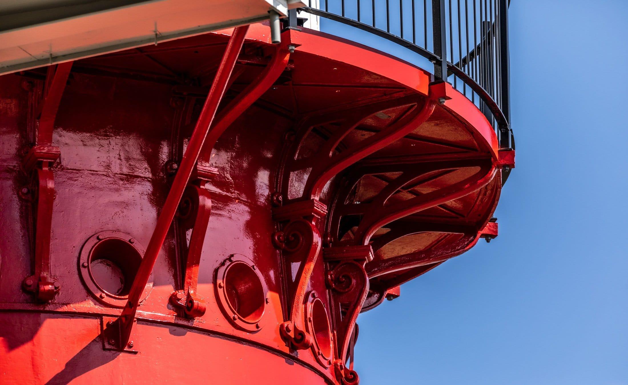 Renovatie van de vuurtoren op Vlieland voltooid