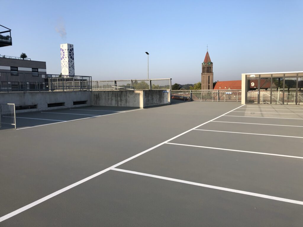 renovatie parkeergarage